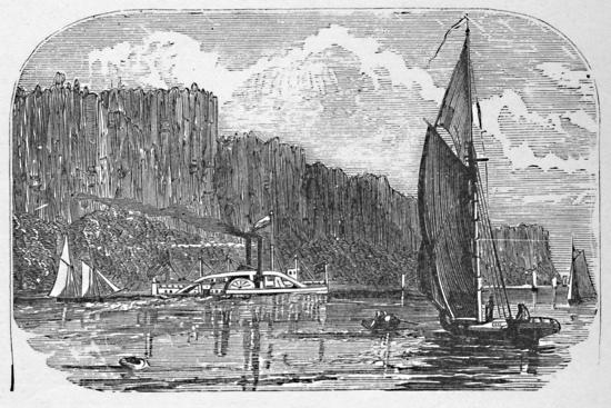 'The Palisades', 1883-Unknown-Giclee Print
