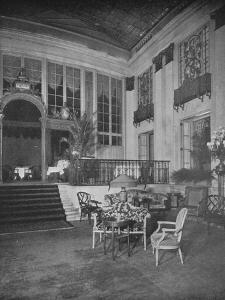 The Palm Room of the Ritz Carlton Hotel, New York, 1923