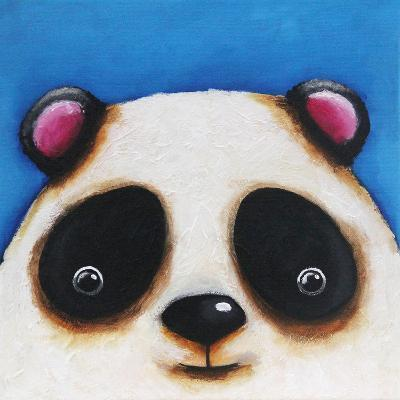 The Panda Bear-Lucia Stewart-Wall Mural