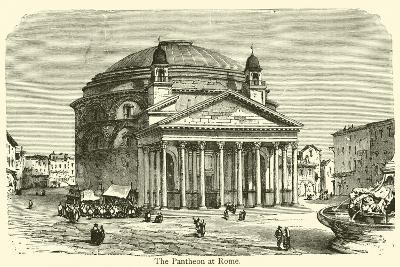 The Pantheon at Rome--Giclee Print