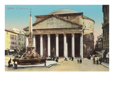 The Pantheon, Rome--Art Print