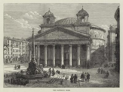 The Pantheon, Rome--Giclee Print