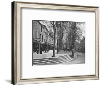 'The Pantiles, Tunbridge Wells', c1896-Carl Norman-Framed Photographic Print