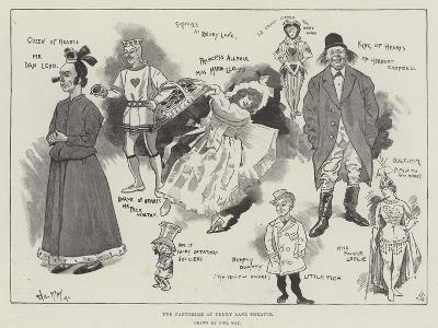 The Pantomime at Drury Lane Theatre-Phil May-Giclee Print
