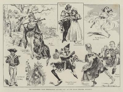 The Pantomime Dick Whittington and His Cat, at the Grand Theatre, Islington-Ralph Cleaver-Giclee Print