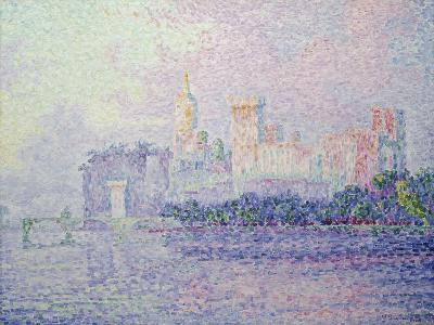The Papal Palace in Avignon, 1900-Paul Signac-Giclee Print