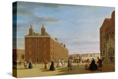 The Paper Buildings, Inner Temple, London, c.1725