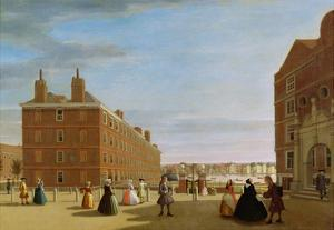 The Paper Buildings, Inner Temple, London, c.1725