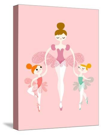 Ballerina Twins by The Paper Nut