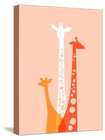 Giraffes Trio by The Paper Nut