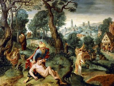 The Parable of the Good Samaritan--Giclee Print