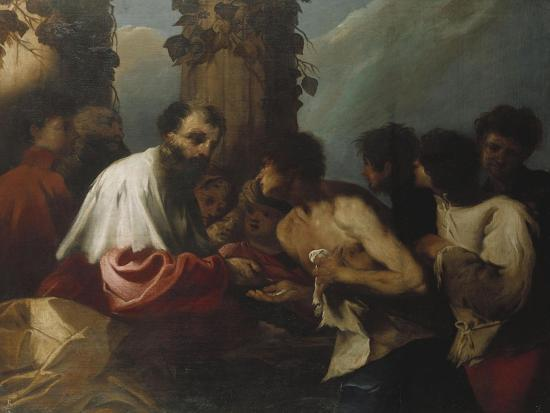 The Parable of the Labourers in the Vineyard-Cristofano Allori-Giclee Print