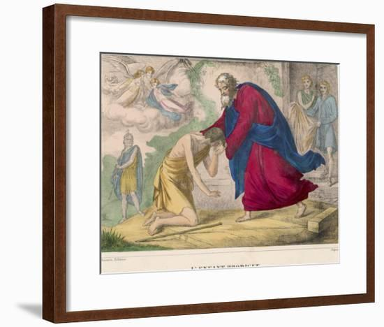 "The Parable of ""The Prodigal Son"" Welcomed Home by His Father--Framed Giclee Print"