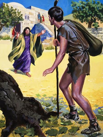 The Parable of the Prodigal Son--Giclee Print