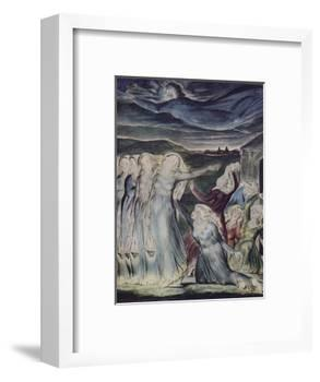 'The Parable of the Wise and Foolish Virgins', c1800-William Blake-Framed Giclee Print