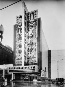 The Paramount Theatre, Exterior, 2025 Broadway, Oakland, California, 1932