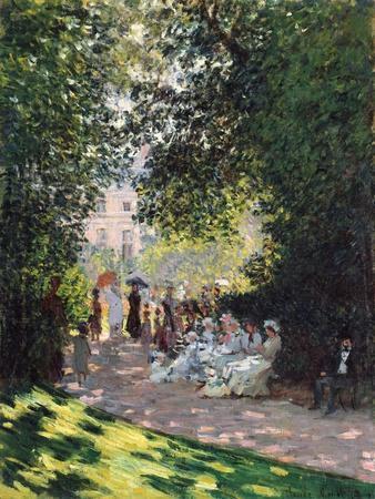 The Parc Monceau, 1878-Claude Monet-Giclee Print