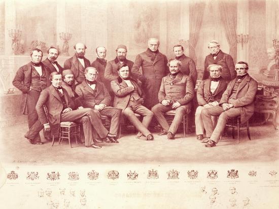 The Paris Congress of 1856--Giclee Print