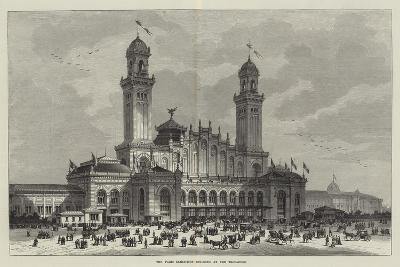 The Paris Exhibition Building at the Trocadero--Giclee Print