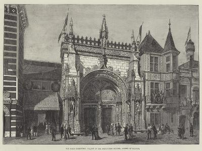 The Paris Exhibition, Facade of the Portuguese Section, Avenue of Nations--Giclee Print