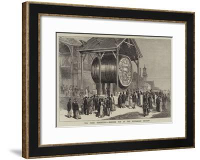 The Paris Exhibition, Monster Tun in the Hungarian Section-Joseph Nash-Framed Giclee Print