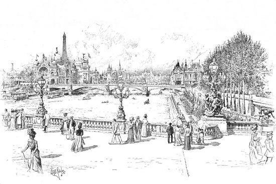 The Paris Exhibition of 1900 (1906)-Unknown-Giclee Print
