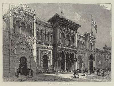 The Paris Exhibition, the Spanish Pavilion--Giclee Print