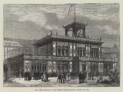 The Paris Exhibition, the United States Building, Champ De Mars--Giclee Print