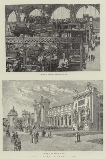 The Paris Exhibition--Giclee Print
