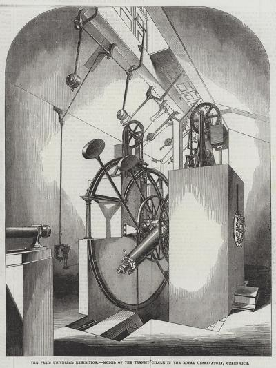 The Paris Universal Exhibition, Model of the Transit Circle in the Royal Observatory, Greenwich--Giclee Print