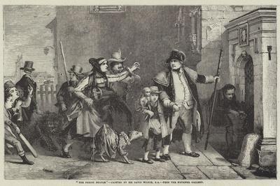The Parish Beadle-Sir David Wilkie-Giclee Print