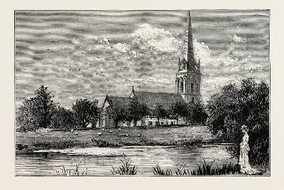 The Parish Church, Worsley, Uk--Giclee Print