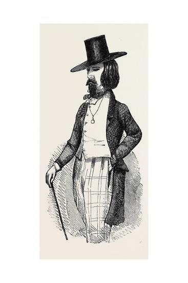 The Parisian Dandy--Giclee Print