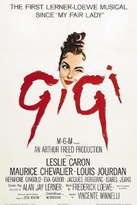 """The Parisians, 1958, """"Gigi"""" Directed by Vincente Minnelli"""