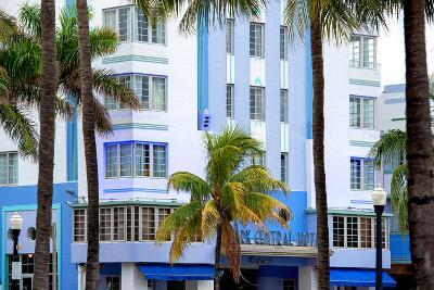The Park Central Hotel Miami Beach - Art Deco District - Florida-Philippe Hugonnard-Photographic Print