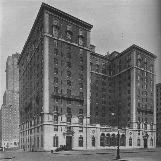 The Park Lane Hotel, New York City, 1924-Unknown-Photographic Print