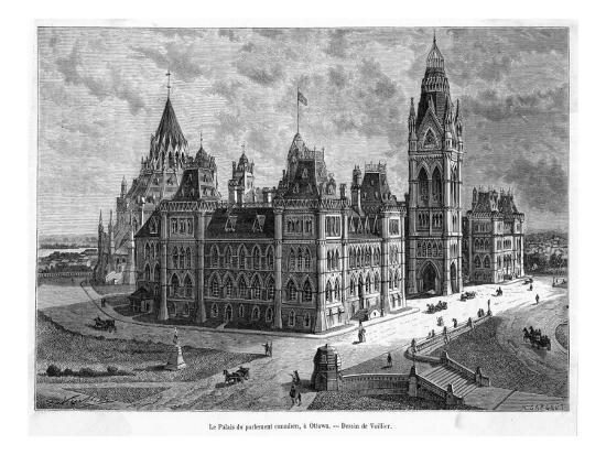 The Parliament Buildings--Giclee Print