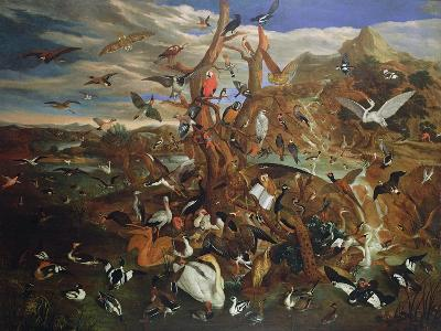 The Parliament of Birds-Carl Wilhelm De Hamilton-Giclee Print