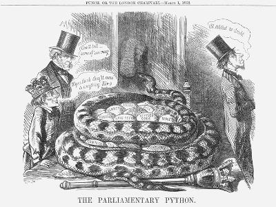 The Parliamentary Python, 1862--Giclee Print