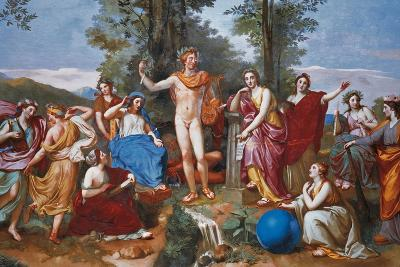 The Parnassus-Anton Raphael Mengs-Giclee Print