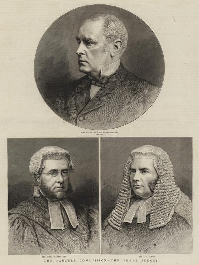The Parnell Commission, the Three Judges--Giclee Print
