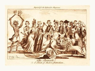 The Parricide a Sketch of Modern Patriotism--Giclee Print