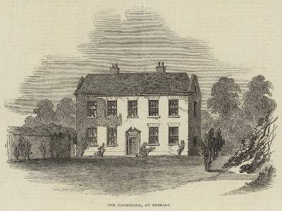The Parsonage, at Frimley--Giclee Print