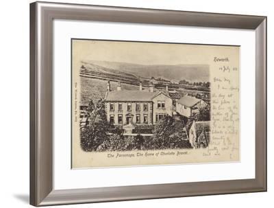 The Parsonage, Haworth, Yorkshire--Framed Photographic Print