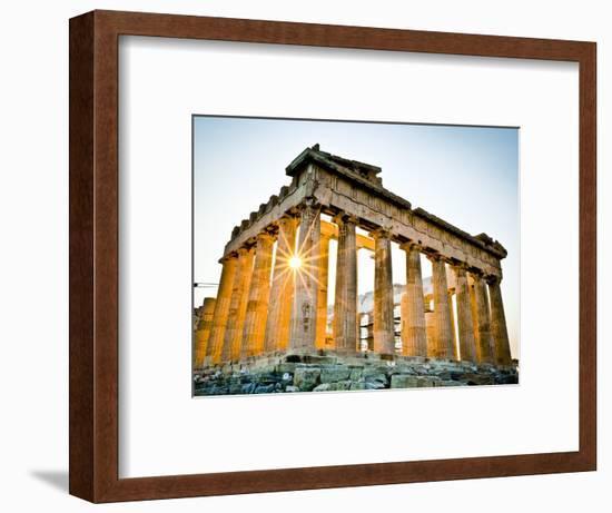 The Parthenon, Acropolis, Athens, Greece-Doug Pearson-Framed Photographic Print