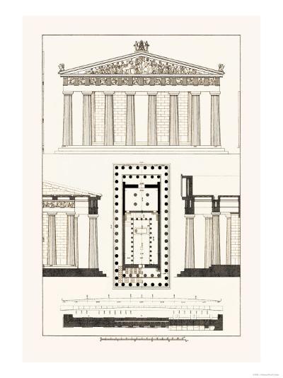 The Parthenon at Athens-J^ Buhlmann-Art Print