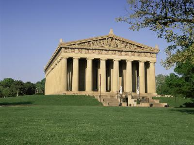 The Parthenon in Centennial Park, Nashville, Tennessee, United States of America, North America-Gavin Hellier-Photographic Print