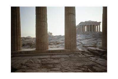 The Parthenon--Giclee Print