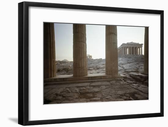 The Parthenon--Framed Giclee Print