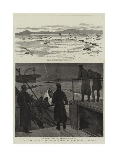 The Particular Service Squadron in Bantry Bay, Ireland-Joseph Nash-Giclee Print